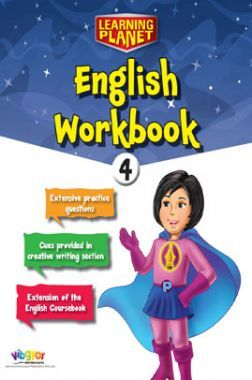 Learning Planet English Workbook - 4