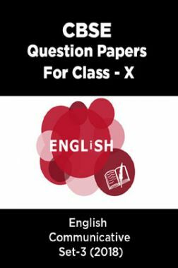 CBSE Question Papers For Class - X English Communicative Set-3 (2018)