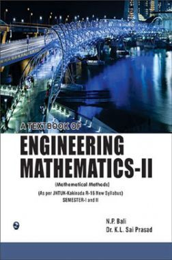 A Textbook Of Engineering Mathematics Sem-II (JNTUK)