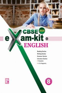 CBSE Exam Kit In English For Class - VIII For 2020 Exam