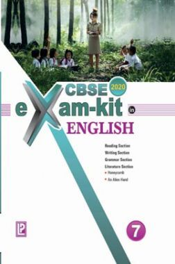 CBSE Exam Kit In English For Class - VII For 2020 Exam