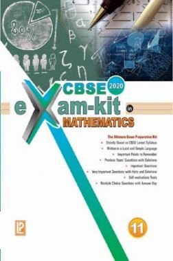 CBSE Exam Kit In Mathematics For Class - XI For 2020 Exam