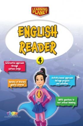 Learning Planet English Reader Class 4