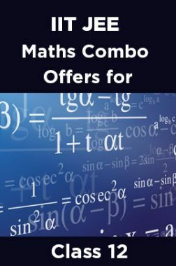 IIT JEE Maths Combo Offers For Class - XII