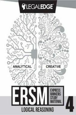 ERSM Logical Reasoning 4 For CLAT 2019