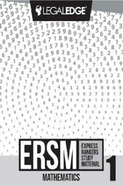 ERSM Mathematics 1 For CLAT 2019