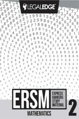 ERSM Mathematics 2 For CLAT 2019