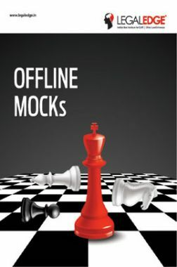 CLAT 2019 Offline Mocks 15