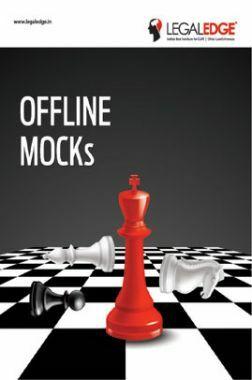 CLAT 2019 Offline Mocks 17