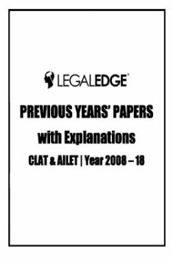 CLAT Previous Years Papers With Explanations (Year 2008-18)