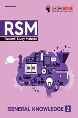 CLAT 2019 RSM General Knowledge - 2