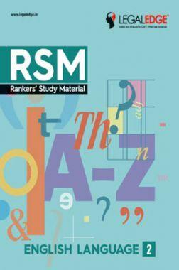 CLAT 2019 RSM English Language - 2