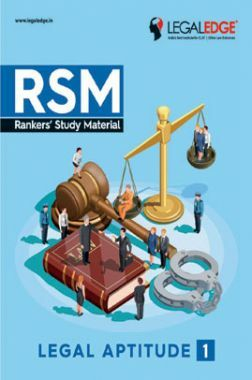 CLAT 2019 RSM Legal Aptitude - 1
