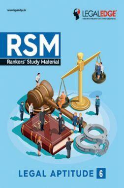 CLAT 2019 RSM Legal Aptitude - 6