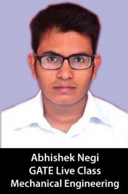 Crash course for GATE Engineering under the Mentorship of Abhishek Negi, Mechanical Engineering