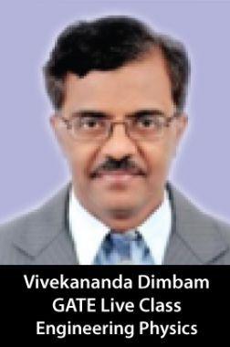 Crash Course Classes Under The Mentorship of  Prof. Vivekananda Dimbam, Engineering Physics
