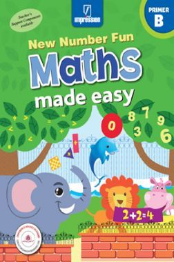 New Number Fun Maths Made Easy - Primer B