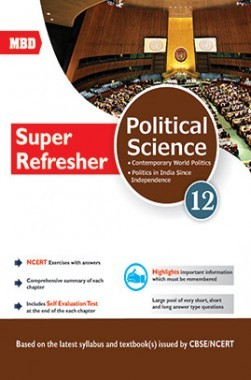 MBD CBSE Super Refresher Political Science Class 12