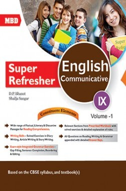 MBD Super Refresher English Communicative 9 Volume 1