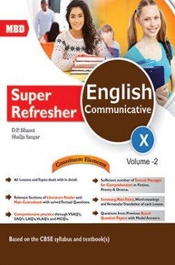 MBD Super Refresher English Communicative 10 Volume 2
