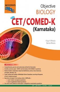 MOD ABC Of Objective Biology CET /COMED-K (E) Karnataka