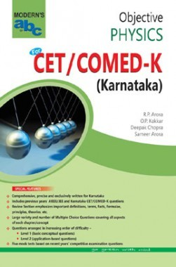 MOD ABC Of Objective Physics CET /COMED-K (E) Karnataka