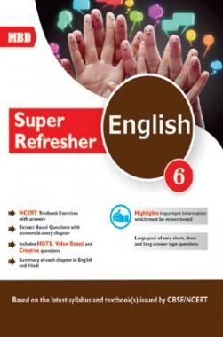 MBD Super Refresher English Class-VI CBSE /NCERT