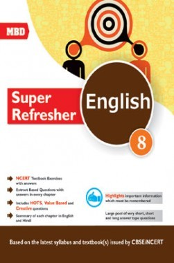 MBD Super Refresher English Class-VIII CBSE /NCERT