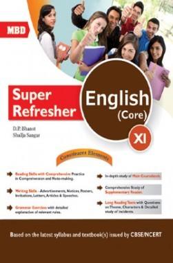 MBD Super Refresher English Core Class-XI CBSE /NCERT