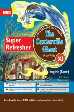 MBD Super Refresher English Core The Canterville Ghost Class-XI CBSE