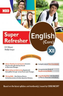 MBD Super Refresher English Core Class-XII CBSE /NCERT