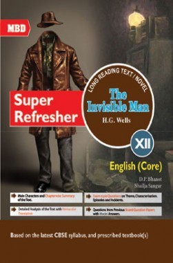 MBD Super Refresher English Core The Invisible Man Class-XII CBSE