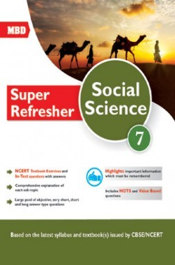 MBD Super Refresher Social Science Class-VII CBSE /NCERT