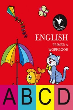 Holy Faith Humming Bird English Workbook Primer-A