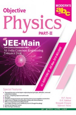 Moderns ABC Of Objective Physics JEE Main Part-2