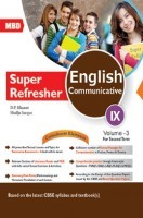 MBD Super Refresher English Communicative Class-IX  Vol-III CBSE