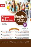 MBD Super Refresher English Language & Literature Class-IX  Vol-II CBSE