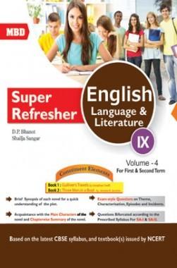 MBD Super Refresher English Language & Literature Class-IX  Vol-IV CBSE