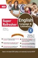 MBD Super Refresher English Language & Literature Class-X  Vol-III CBSE