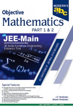 Moderns ABC Of Objective Mathematics JEE Main Part-1 & 2