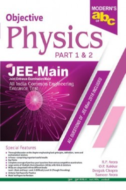 Moderns ABC Of Objective Physics JEE Main Part-1 & 2