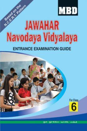 MBD Jawahar Navodaya Vidyalaya Entrance Examination Guide For Class-VI