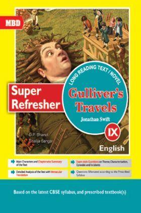 MBD Super Refresher Novel Gullivers Travels For Class-IX