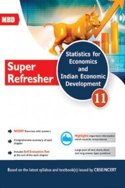 MBD Super Refresher Statistics For Economics & Indian Economics Development For Class-XI