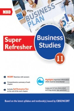 MBD Super Refresher Business Studies For Class-XI