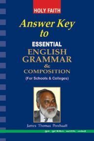Holy Faith Essential English Grammar And Composition (Answer Key)