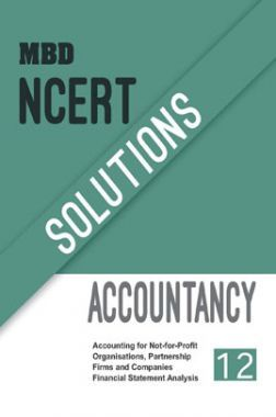 MBD NCERT Solutions Accountancy For Class-12