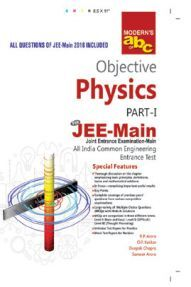 Modern ABC Of Objective Physics Part-I (JEE-Main) For 2019