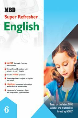 MBD Super Refresher English For Class - VI