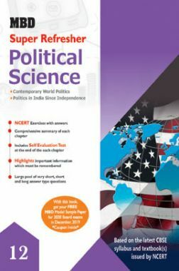 MBD Super Refresher Political Science For Class - XII